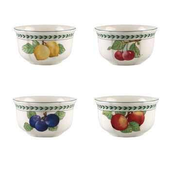 French Garden Modern Fruits Bowl: Assorted, Set of 4