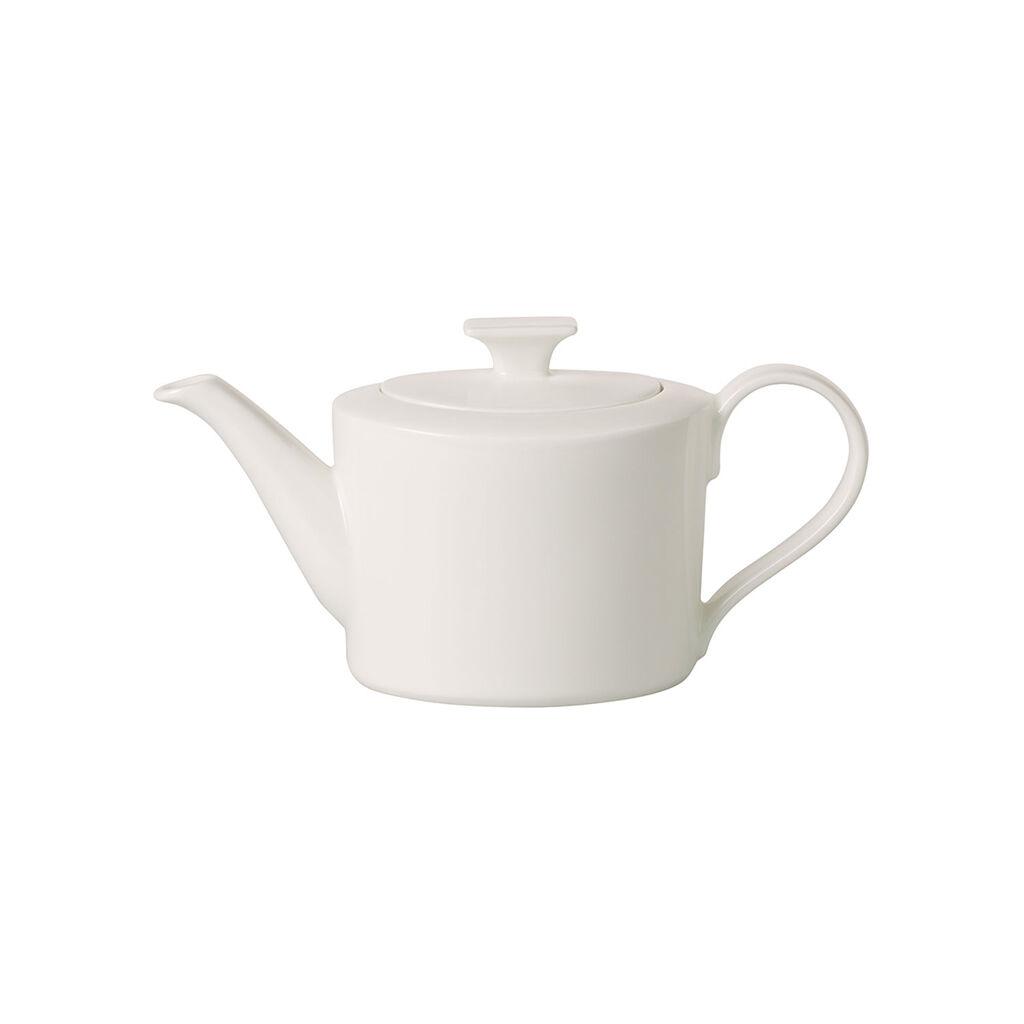 빌레로이 앤 보흐 '메트로 시크' 티팟 스몰 Villeroy & Boch MetroChic blanc Gifts Small Teapot 13.5 oz