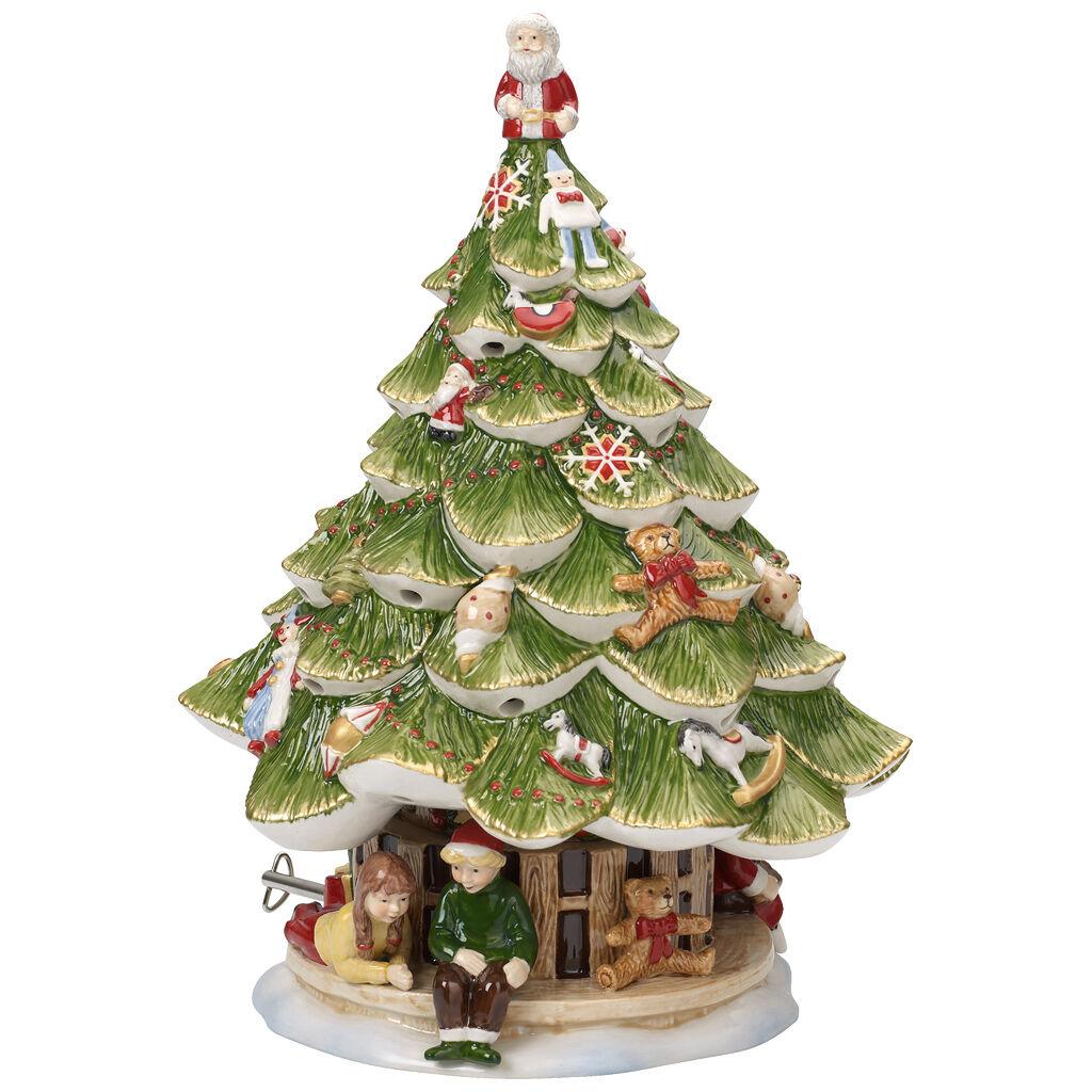 빌레로이 앤 보흐 '크리스마스 토이즈' 크리스마스 트리 조각상 Villeroy & Boch Christmas Toys Memories Large Christmas Tree: Children
