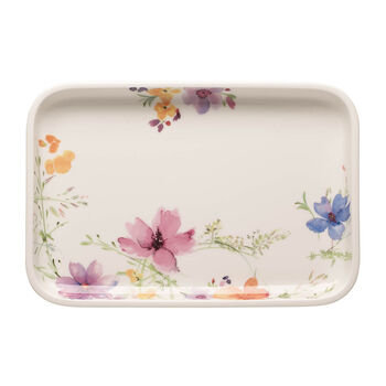 Mariefleur Basic Baking Dish Rectangular Serving Plate/Lid, Small