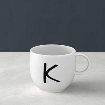 Letters Mug: K