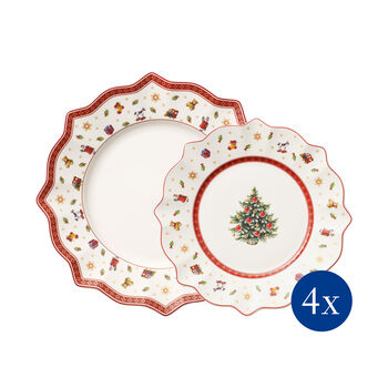 Toy's Delight Set of Plates, 8 pieces