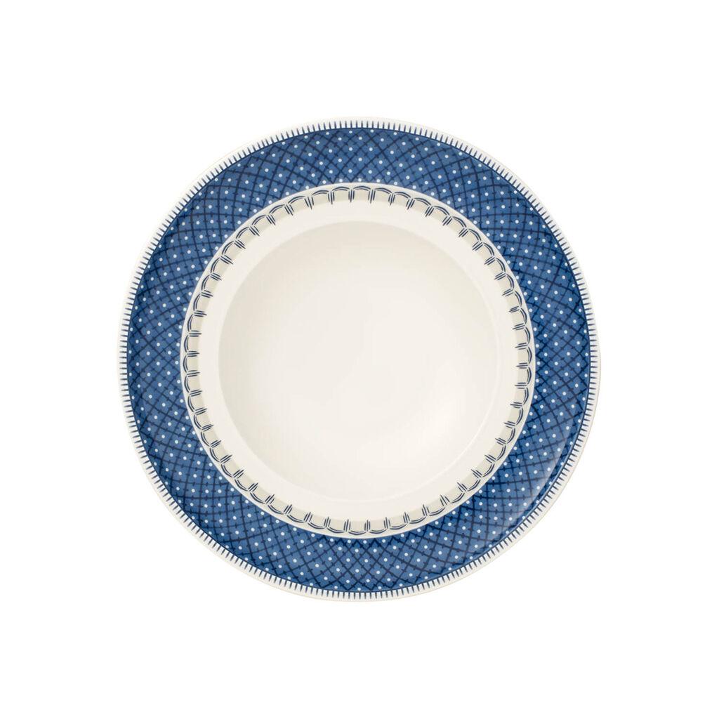 빌레로이 앤 보흐 카살레 블루 림 수프 그릇 Villeroy & Boch Casale Blu Rim Soup 9.75 in
