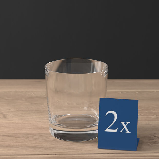 Purismo Bar Double Old-Fashioned Glass, Set of 2, , large