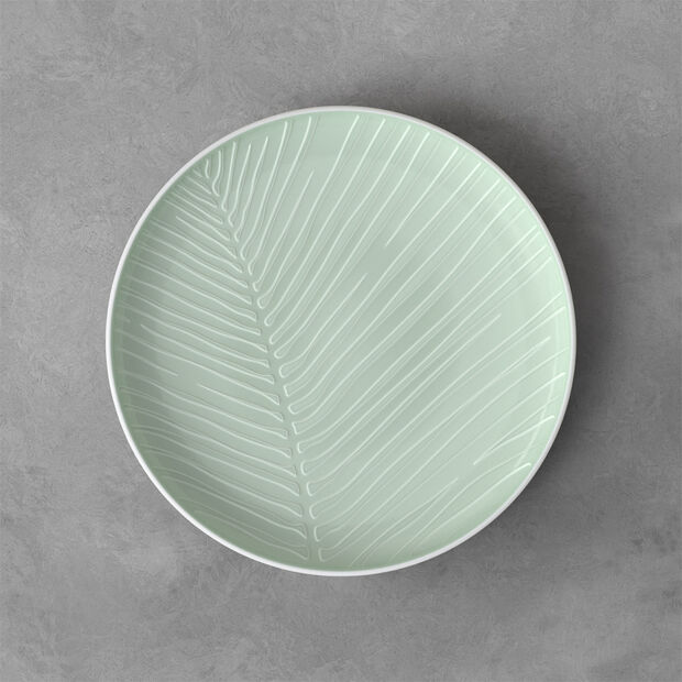 it's my match Mineral Round Plate: Leaf, , large