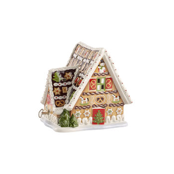 Christmas Toys Musical Gingerbread House