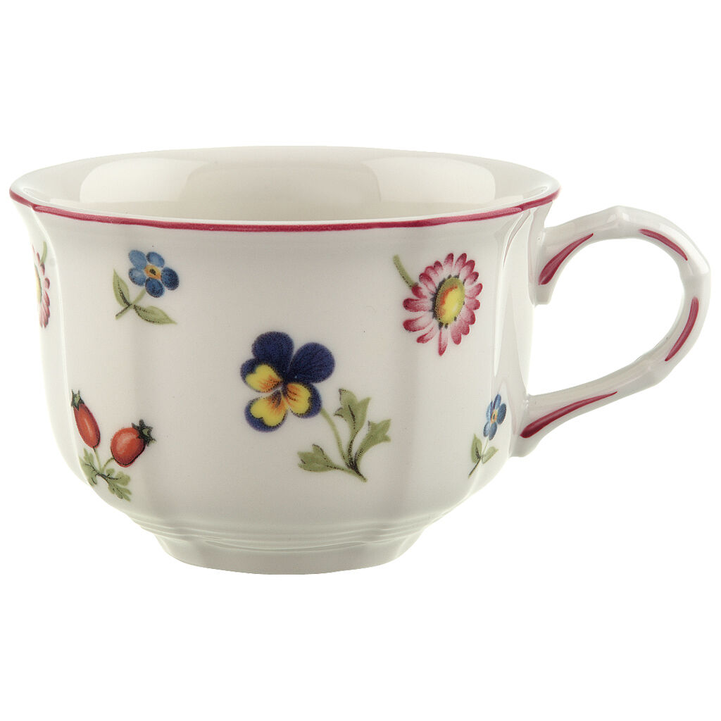 빌레로이 앤 보흐 쁘띠 플러어 티컵 Villeroy & Boch Petite Fleur Teacup 7 1/2 oz