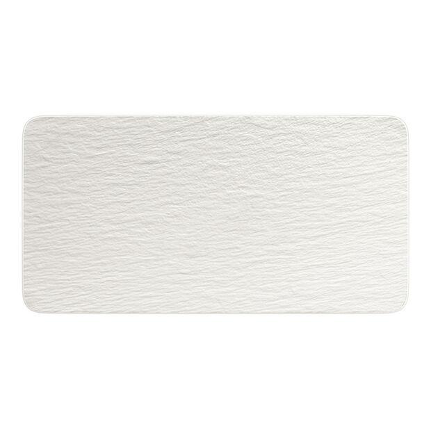 Manufacture Rock Blanc Rectangular Serving Plate, , large