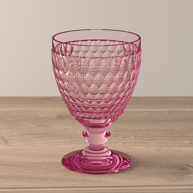 Boston Colored Goblet: Rose, , large