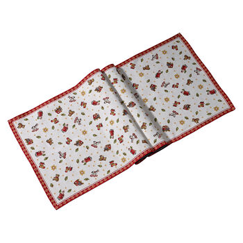 Toy's Delight Extra Long Embroidered Runner