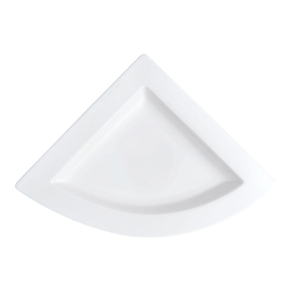 빌레로이 앤 보흐 뉴웨이브 Villeroy & Boch New Wave Triangle Plate 8 1/2 in