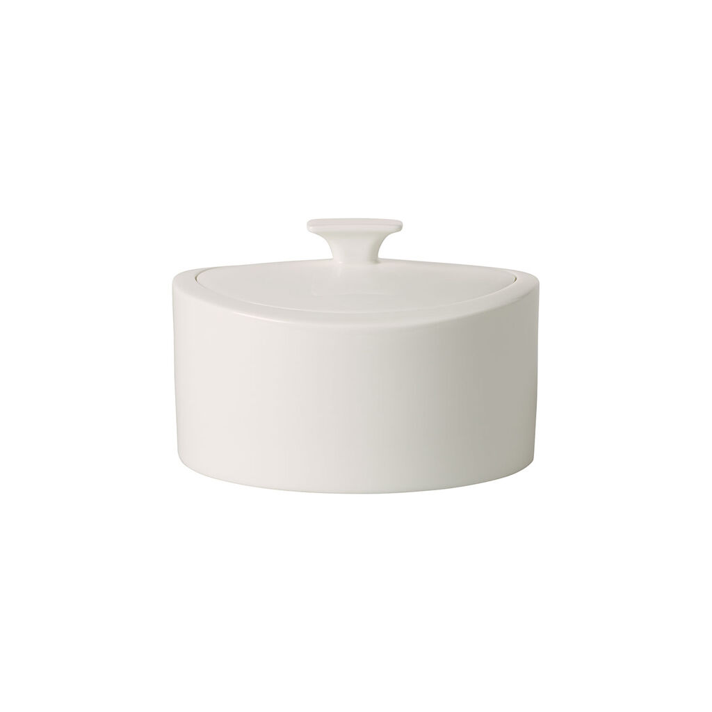 빌레로이 앤 보흐 '메트로 시크' 포세린 박스 Villeroy & Boch MetroChic blanc Gifts Porcelain Box 6.25x6 in