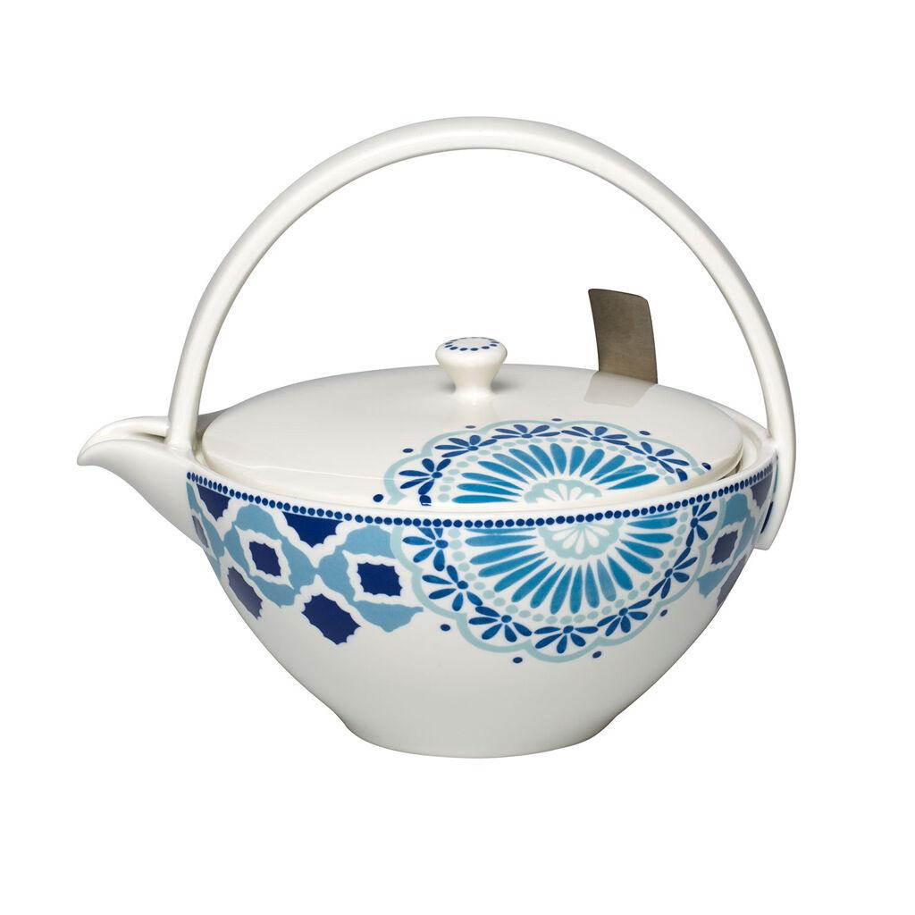 빌레로이 앤 보흐 티 패션 티팟 Villeroy & Boch Tea Passion Medina 4 Person Teapot with Filter 33.75 oz