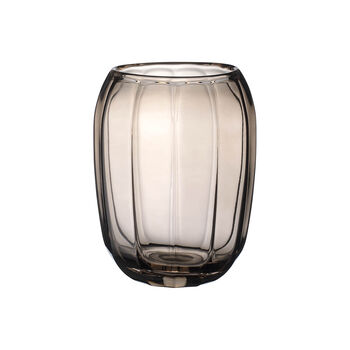 Coloured DeLight Hurricane Lamp/Large Vase:Natural Cotton 7 in