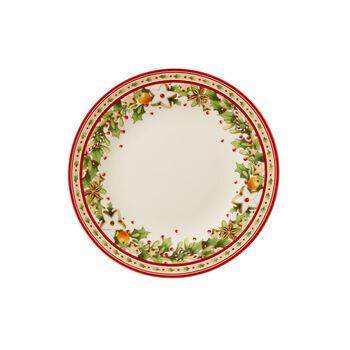 Winter Bakery Delight Salad Plate
