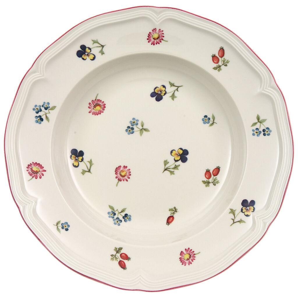 빌레로이 앤 보흐 쁘띠 플러어 수프 보울 Villeroy & Boch Petite Fleur Soup Bowl 9 in
