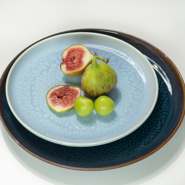 Crafted Blueberry Salad Plate, , large