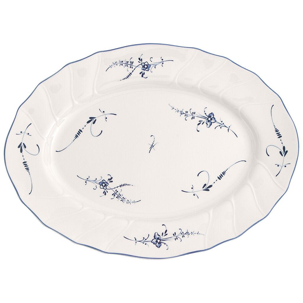 빌레로이 앤 보흐 올드 룩셈부르크 오발 접시 Villeroy & Boch Old Luxembourg Oval Platter 14 in