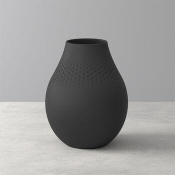 Manufacture Collier Noir Perle Vase, Tall
