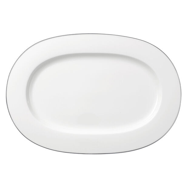 Anmut Platinum No. 1 Oval Platter, , large