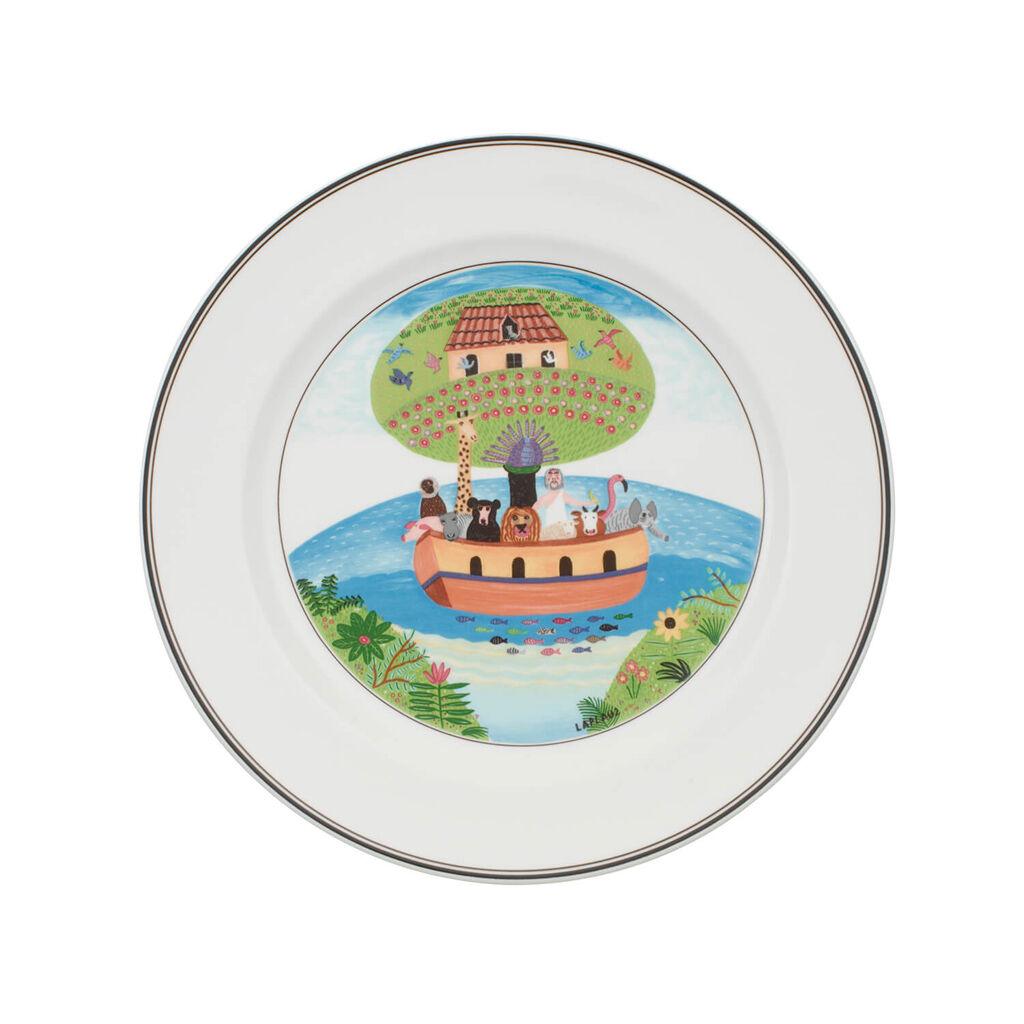 빌레로이 앤 보흐 디자인 나이프 디너 접시 Villeroy&Boch Design Naif Dinner Plate #2 - Noahs Ark 10 1/2 in