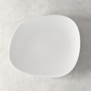 Organic White Dinner Plate