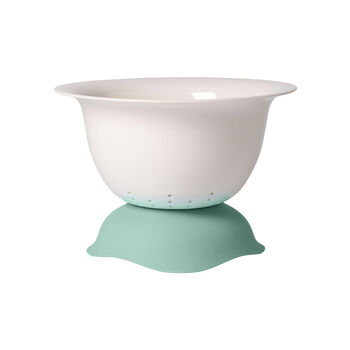 Clever Cooking Strainer/Serving Bowl: Green