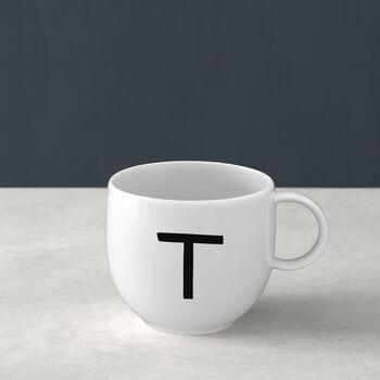 Letters Mug: T