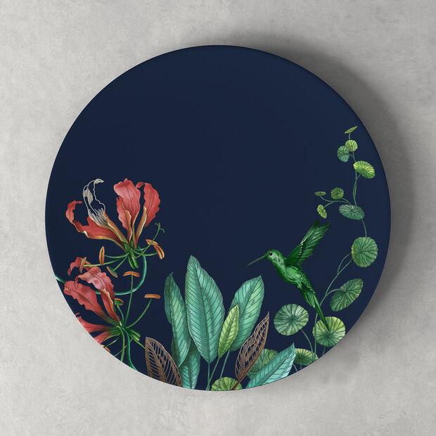 Avarua Dinner Plate: Blue, , large