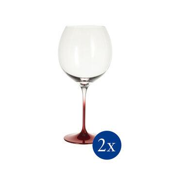 Allegorie Premium Rose Burgundy Grand Cru Wine Glass, Set of 2