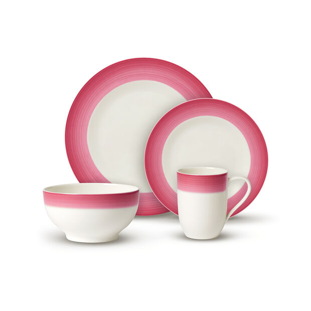Colorful Life Berry Fantasy 8 Piece Dinner Set for 2, , large