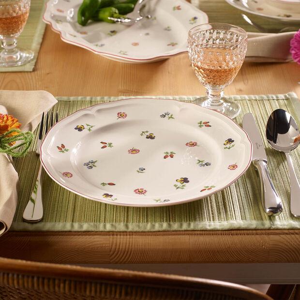 Petite Fleur Dinner Plate, , large