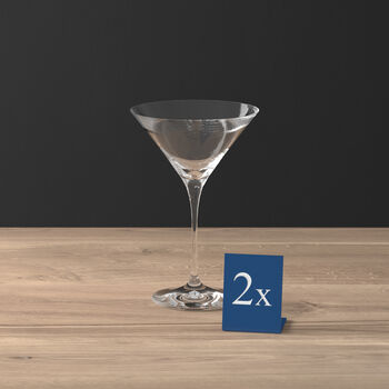Purismo Bar Martini/Cocktail, Set of 2