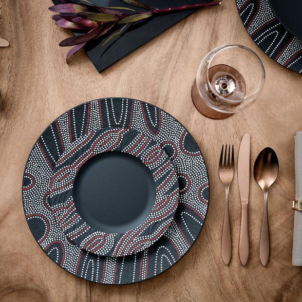 Manufacture Rock Desert Art Dinner Plate, , large