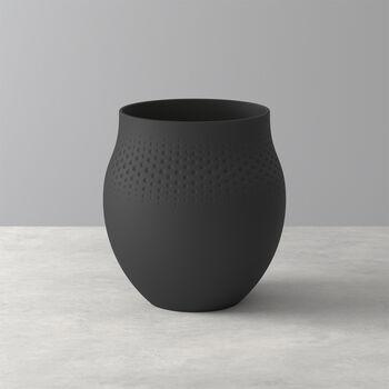 Manufacture Collier Noir Perle Vase, Large