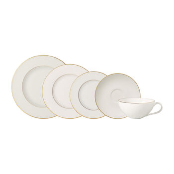 Anmut Gold 5 Piece Place Setting
