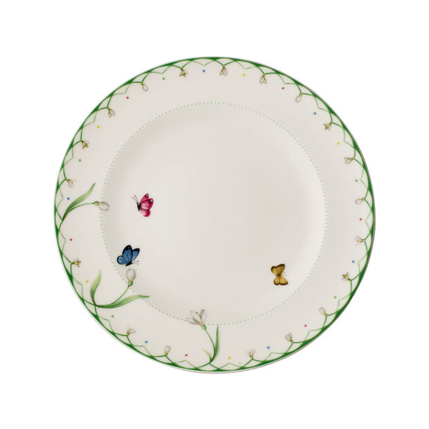 Colourful Spring Dinner Plate, , large