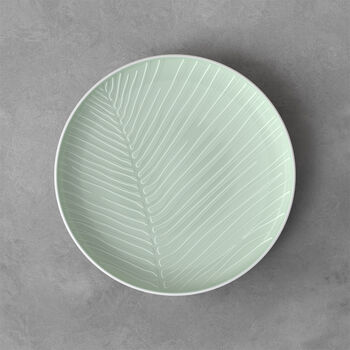 it's my match Mineral Round Plate: Leaf