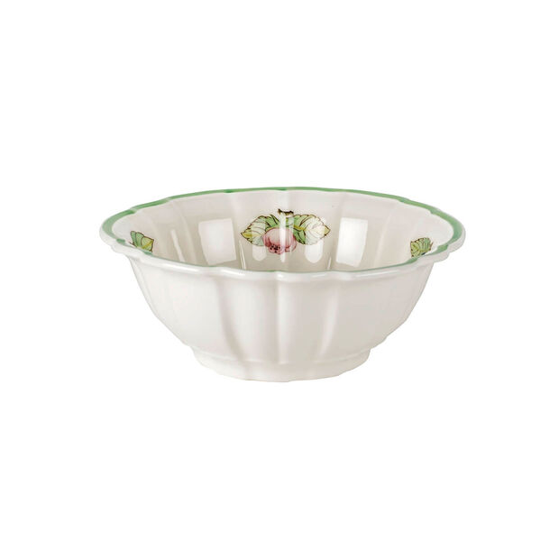 French Garden Fleurence Fluted Rice Bowl, , large