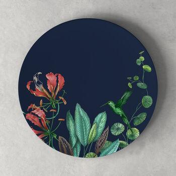 Avarua Dinner Plate: Blue