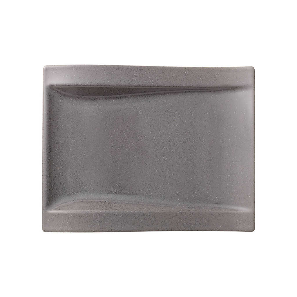 빌레로이 앤 보흐 뉴웨이브 샐러드 그릇 Villeroy&Boch New Wave Stone Large Rectangular Salad Plate 10x .75 in