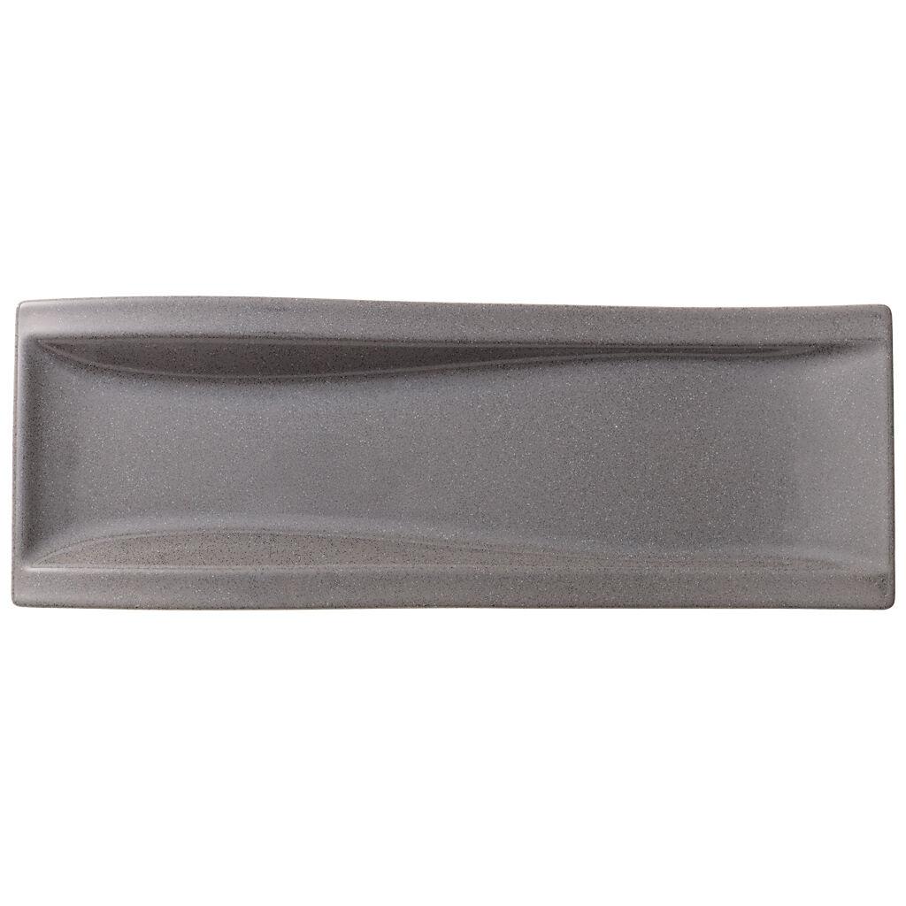 빌레로이 앤 보흐 뉴웨이브 Villeroy&Boch New Wave Stone Antipasti Plate 16.5x6 in