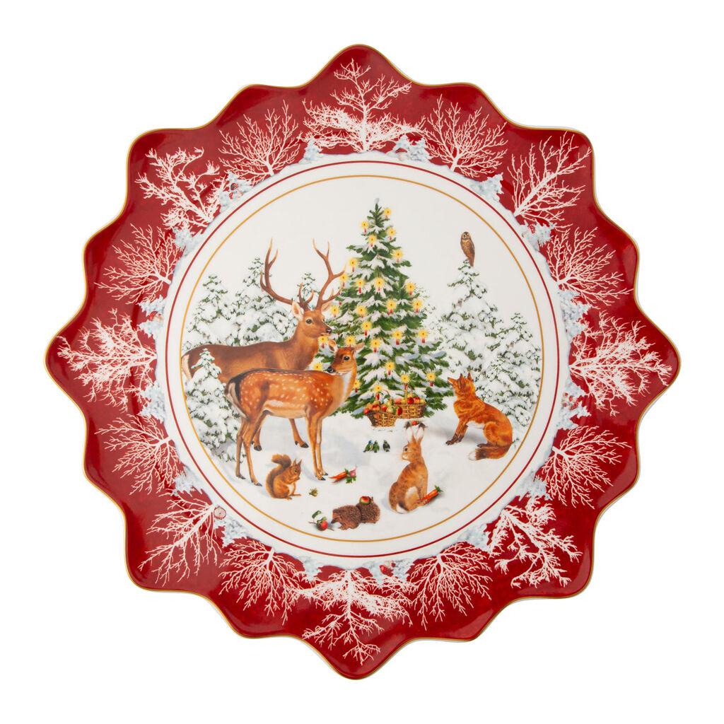 빌레로이 앤 보흐 '토이즈 판타지' 패스트리 그릇 라지 Villeroy & Boch Toys Fantasy Pastry plate large, Forest animals