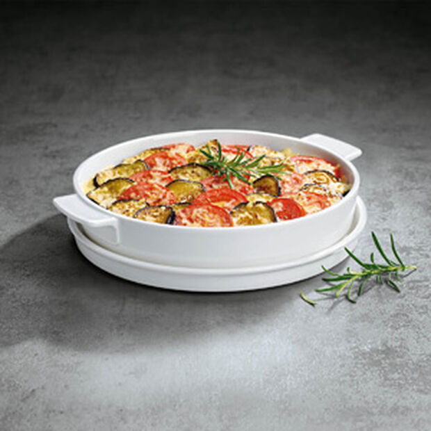 Clever Cooking Round Baking Dish, Large, , large