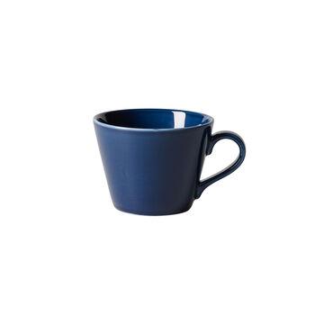 Organic Deep Blue Coffee Cup