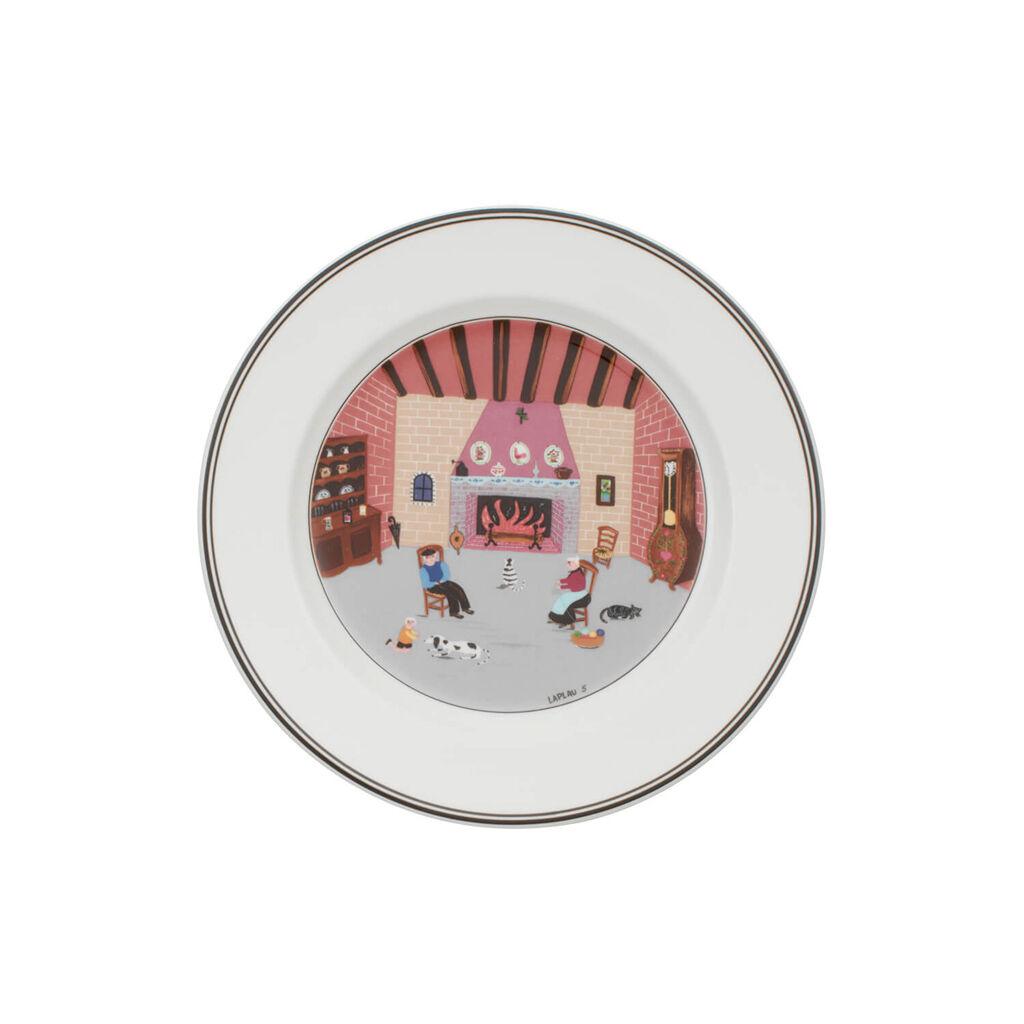 빌레로이 앤 보흐 디자인 나이프 샐러드 그릇 Villeroy&Boch Design Naif Salad Plate #5 - By Fireside 8 1/4 in