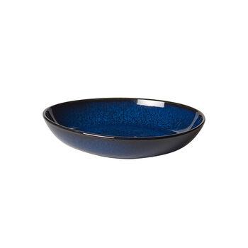 Lave Bleu Flat Bowl, Small