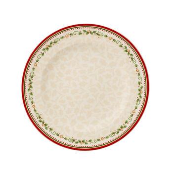 Winter Bakery Delight Dinner Plate: Falling Star
