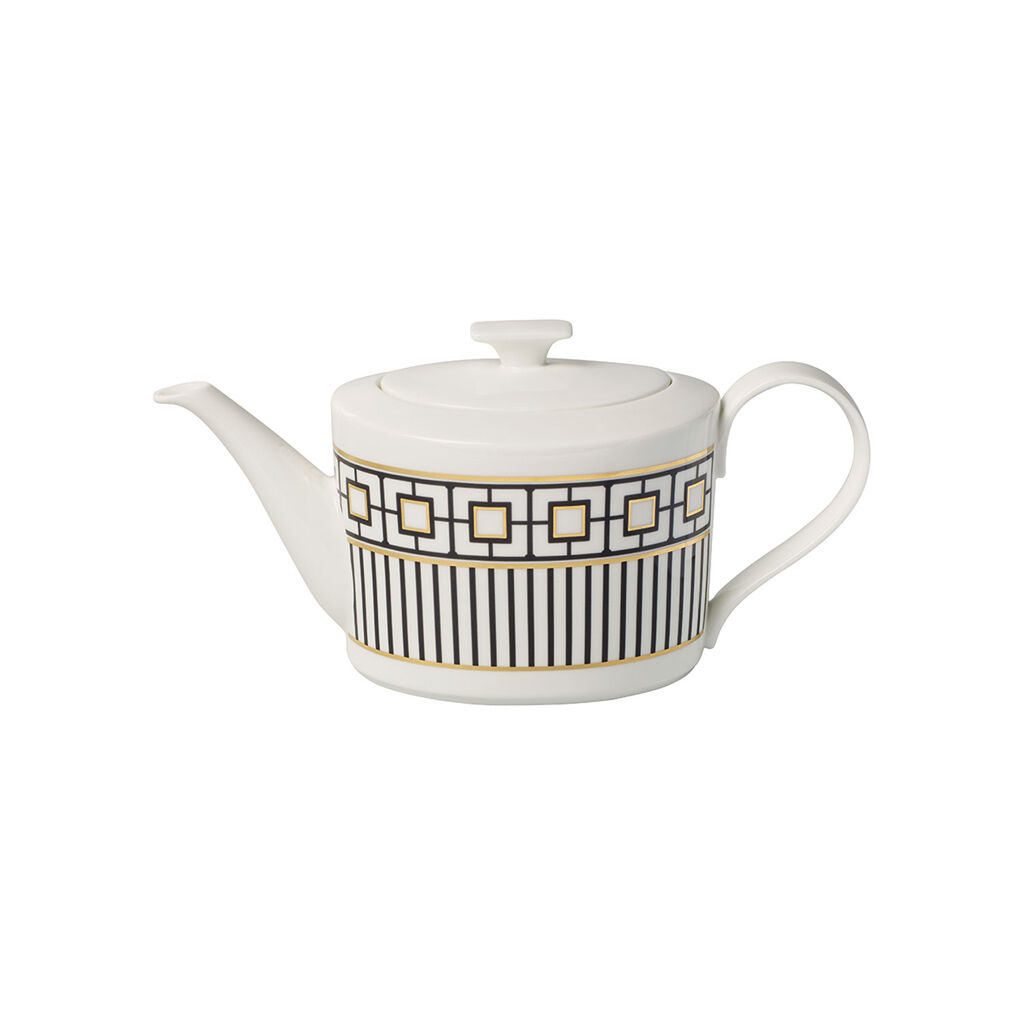 빌레로이 앤 보흐 '메트로 시크' 기프트 티팟 스몰 Villeroy & Boch MetroChic Gifts Small Teapot 13.5 oz