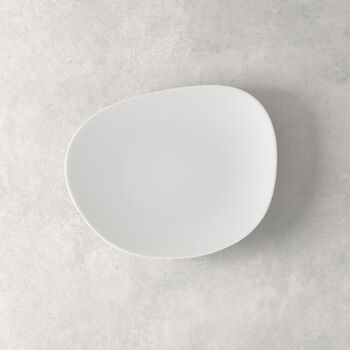 Organic White Salad Plate